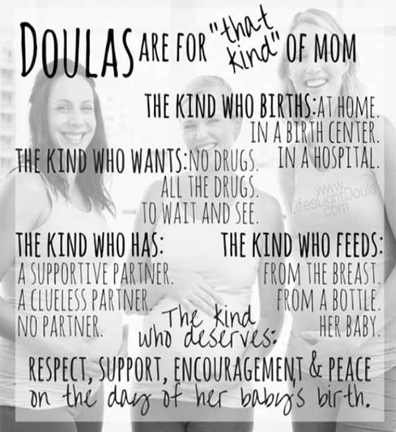 Doula Poster - Doula Services